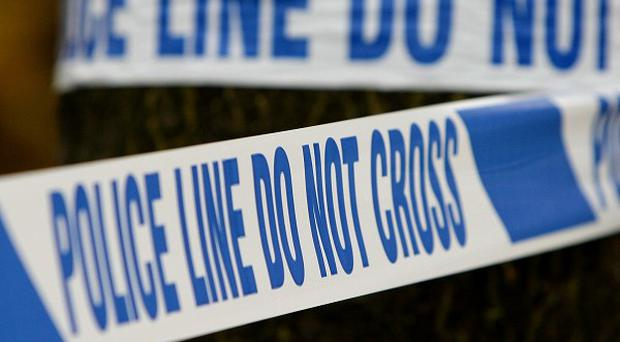 Two security guards suffered serious facial burns in an explosion at a former colliery in Nottinghamshire, police said