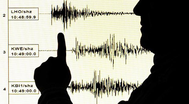 A strong earthquake with a preliminary magnitude of 7.0 earthquake has struck off the shores of Japan's southern Pacific island