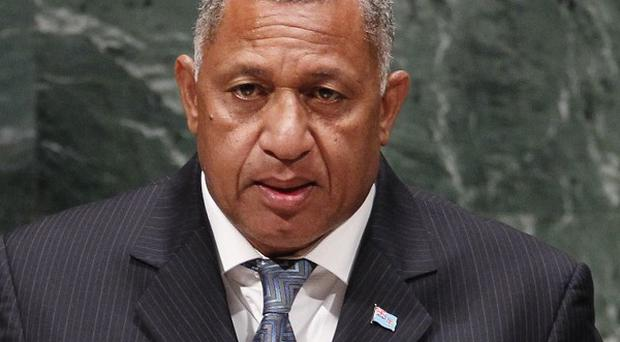 Fiji prime minister Frank Bainimarama is to lift the country's state of public emergency (AP)