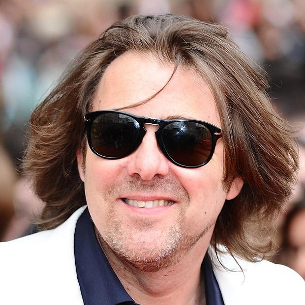 Jonathan Ross wished everyone a happy New Year on Twitter