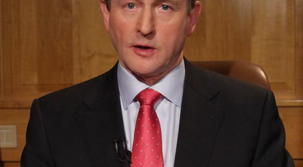 Enda Kenny wants to protect the Republic's current corporation tax level