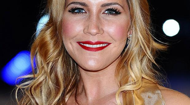 Heidi Range said she was nervous about her first performance on Dancing On Ice