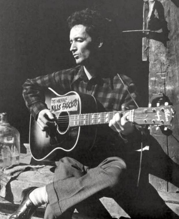 Folk legend: Woody Guthrie