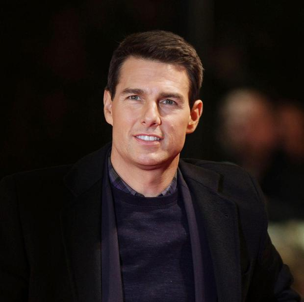 Tom Cruise arrives for the UK premiere of Mission:Impossible Ghost Protocol