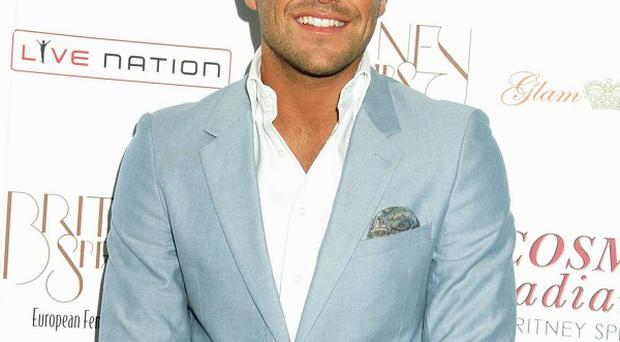 Mark Wright says he piled on the pounds after leaving the jungle