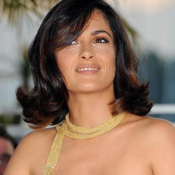 Salma Hayek is to be honoured in France