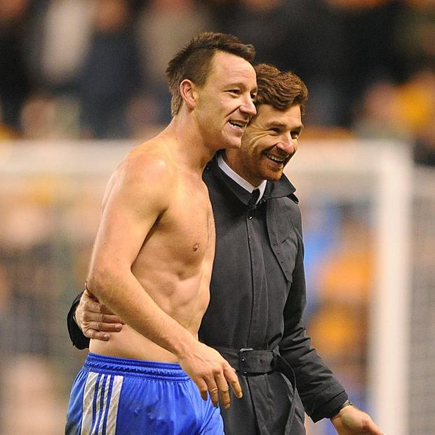 John Terry and Andre Villas-Boas
