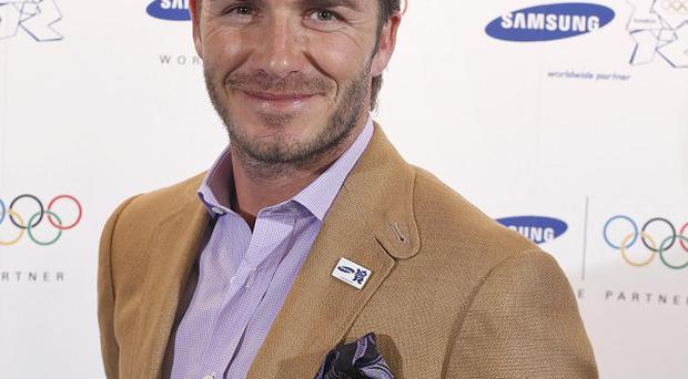 David Beckham is currently in the UK on a Christmas break