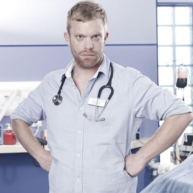 Casualty's William Beck has revealed he has to work hard to leave his character at home