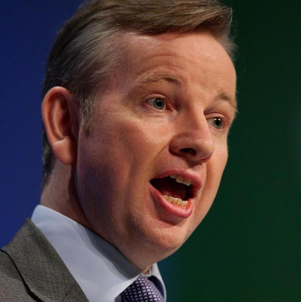 Education Secretary Michael Gove is to hit out at critics of the Government's school academies programme
