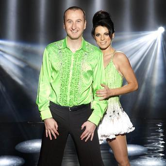 Coronation Street star Andy Whyment has managed to escape injury so far in his Dancing On Ice training