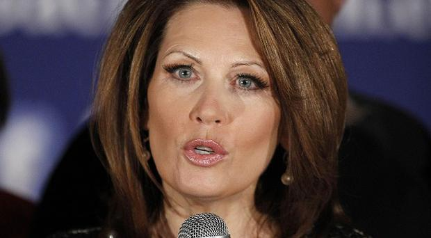 Michele Bachmann announcing she will end her campaign for president (AP)