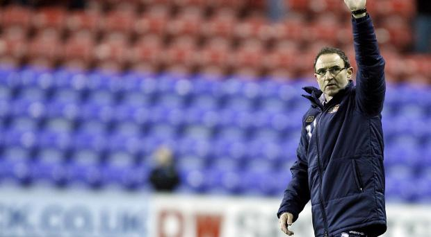 Martin O'Neill has led Sunderland to four victories in six games