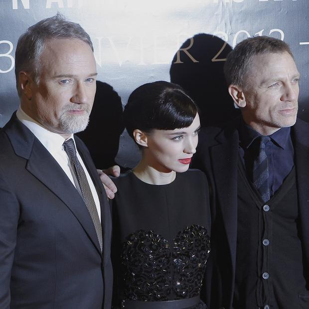Rooney Mara and Daniel Craig have praised director David Fincher