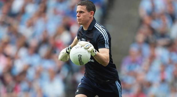 Stephen Cluxton scored the winning point for Dublin in the dying moments of last year's All Ireland final
