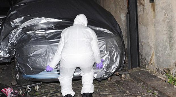 The body of 20-year-old Kirsty Treloar was found in a car on Ryder Mews, Hackney