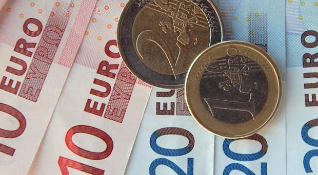 New debt concerns have helped fuel a drop in the euro - it has fallen to a fresh 15-month low against the dollar