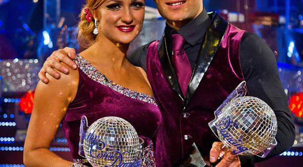 Strictly Come Dancing winners Aliona Vilani and Harry Judd
