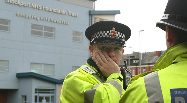 Police investigating the poisoning of patients at Stepping Hill Hospital have arrested a 46-year-old male nurse