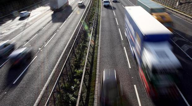 Increasing the speed limit on motorways to 80mph could lead to more accidents, says a study