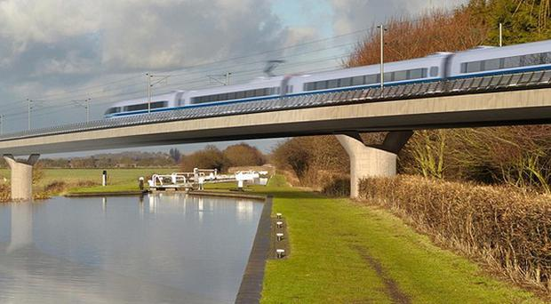 The Government is being urged by business leaders and economists to press on with plans for a high-speed rail line