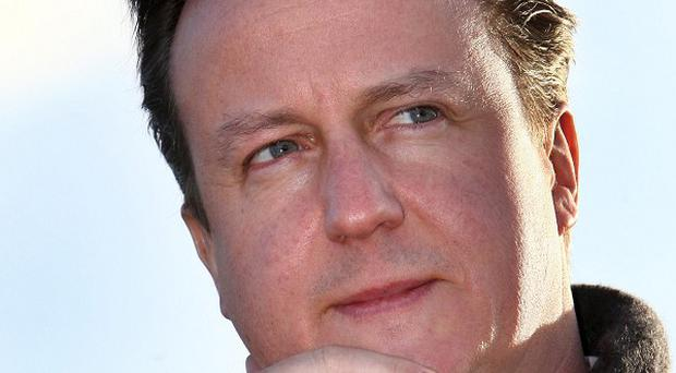 Prime Minister David Cameron has said he hopes inflation will fall, but warned it would be another testing year for households