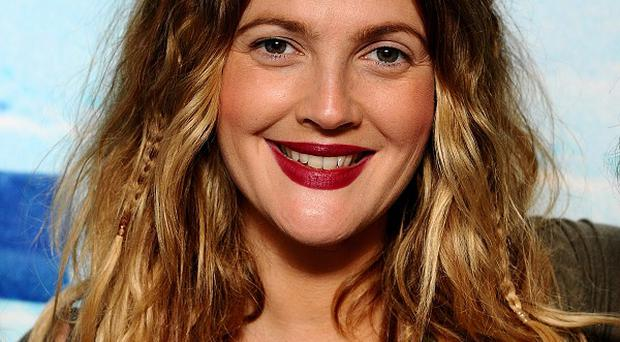 Drew Barrymore has been spotted with a diamond sparkler