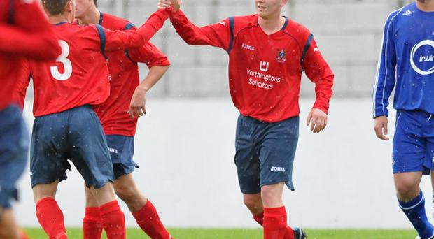 <b>Ross Arthurs - Ards</b><br /> Ross Arthurs might not be a 30-goal-a-season striker, but his hard work and endeavour make him a handful for any centre back. Arthurs put in a good shift against Larne, whilst playing a key role in Ards' New Years Eve victory over their local rivals Bangor. Against Tobermore United the former Crusaders forward scored twice in a 4-1 win.