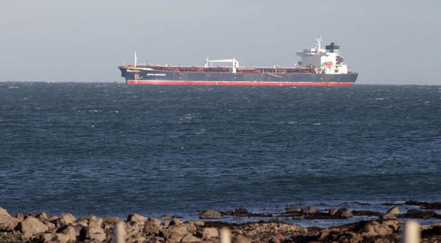The cargo transfer from the damaged ship in Belfast Lough has been delayed for fourth time