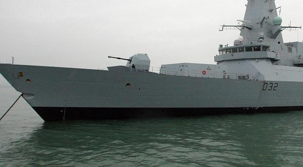 HMS Daring is being sent to the Gulf for her first mission amid heightened tensions with Iran