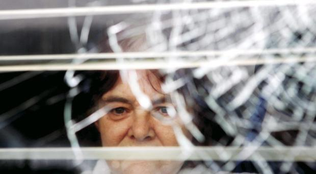 Mary Pearson's home was targeted by a petrol bomber on Thursday night
