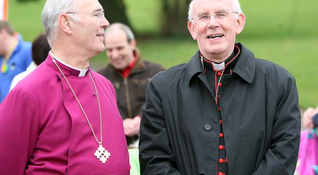 Archbishop Harper and Cardinal Brady talked to republican inmates at Maghaberry