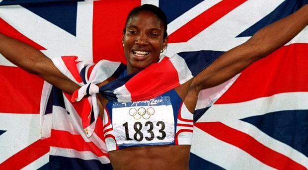 Denise Lewis is to join a campaign which aims to promote Britain abroad