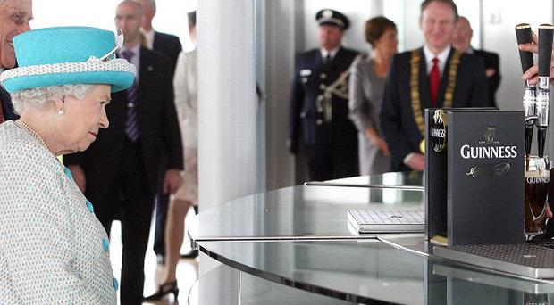 Queen Elizabeth II's visit to the Guinness Storehouse helped encourage other visitors to Dublin to make a trip there