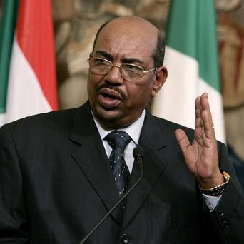 udanese President Omar al-Bashir is visiting Libya for the first time following the downfall of Col Gadaffi (AP)