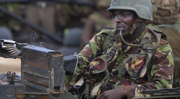 Kenya has sent hundreds of troops into neighbouring Somalia in October to pursue al-Shabab militants (AP)