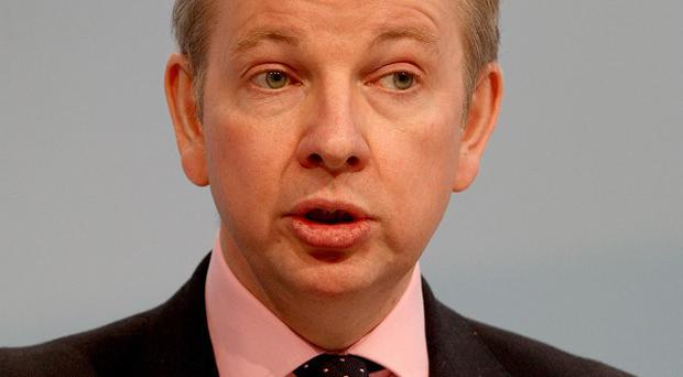 Education Secretary Michael Gove says military-style cadet forces could be introduced to all secondary schools