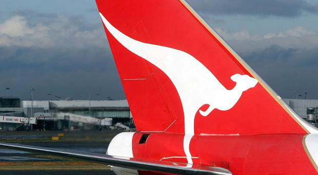 Seven passengers have been treated for cuts and bruises after a Qantas Airways superjumbo hit severe turbulence