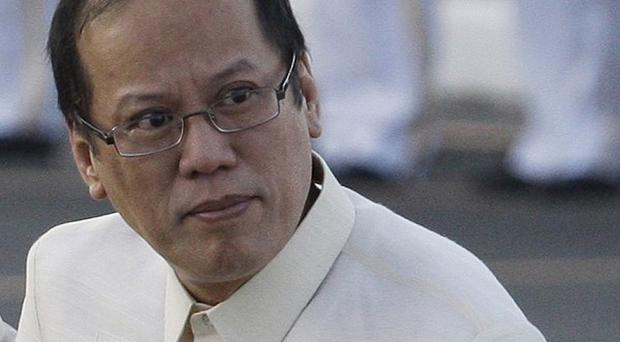 President Benigno Aquino III said that several terrorists are planning to disrupt the religious procession (AP)