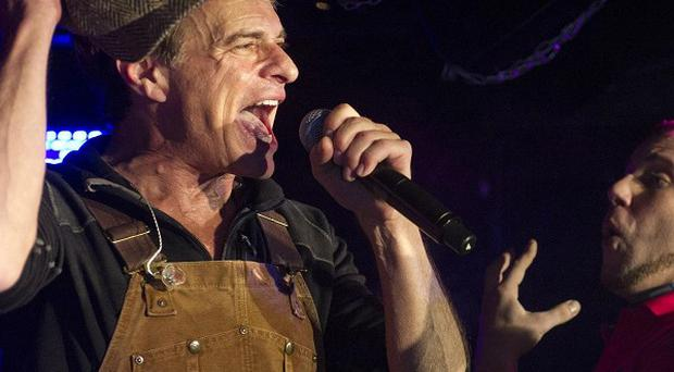 Van Halen's David Lee Roth rocked out at Cafe Wha? in New York