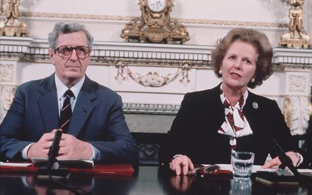 Controversial figure: Magaret Thatcher angered unionists by signing the Anglo-Irish Agreement