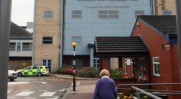 A male nurse has been bailed pending further inquiries into three deaths at Stepping Hill Hospital in Cheshire
