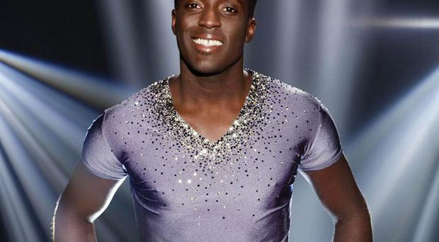 Andy Akinwolere has become the first celebrity to be voted off Dancing On Ice