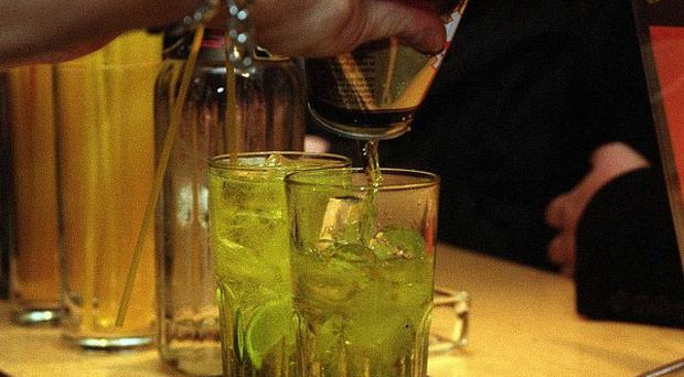 MPs are recommending drinkers have two alcohol-free days each week