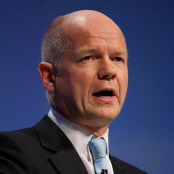William Hague has reacted with disappointment to Iran's latest uranium enrichment programme