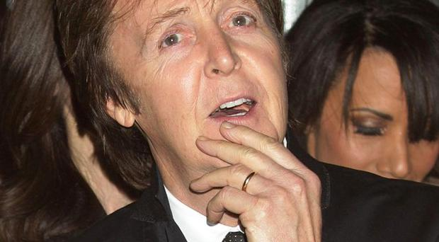 Sir Paul McCartney has a cheeky title for his new album of mainly cover versions