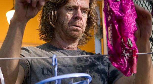 William H Macy plays Frank Gallagher in Shameless
