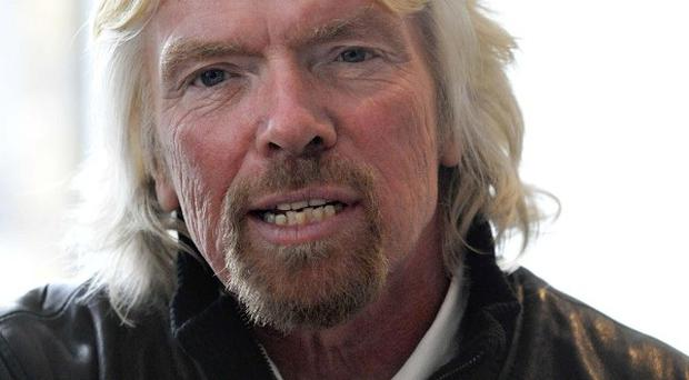 Sir Richard Branson has been voted the UK's most impressive business figure