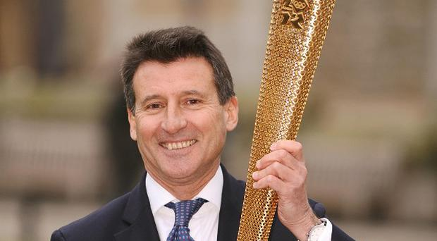 Lord Coe said there was 'huge excitement' brewing ahead of the Olympics