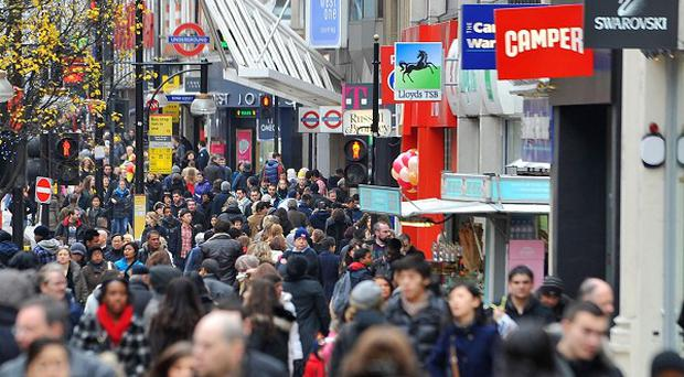 Upbeat figures for December will not ease fears over the struggling retail sector's future, according to KPMG